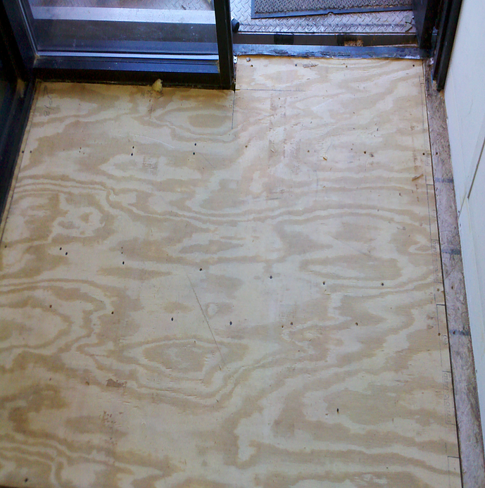 rotten flooring repairs